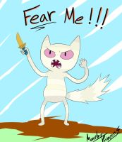 Fear Me-Mow by MonsterPrincess5