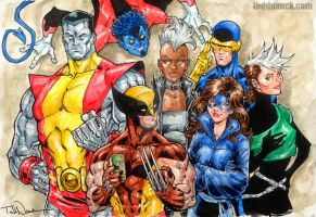 X-Men 1984 by ToddNauck