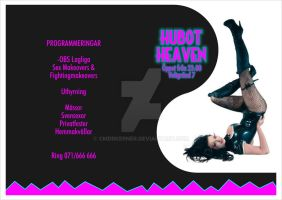 Hubot Heaven Flyer by CmdrKerner