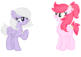 100 theme ponies- 1 and 2 ADOPTS OPEN by snowgraywhite