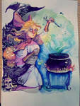 Witch girl by Sheepili
