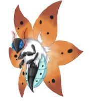 Volcarona by KatIsConfused