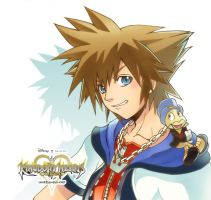 ::Kingdom Hearts : Coded:: by mazjojo