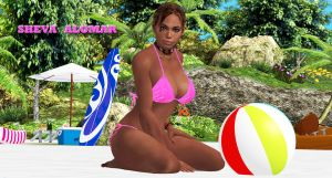 Sheva Alomar     BEACH GODDESS by blw7920