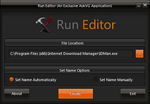 Run Editor 2.1 for Windows by Vishal-Gupta