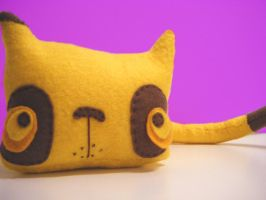 ring ring ring... BANANACAT by loveandasandwich