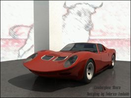 lamborghini miura restyling by TheUncle
