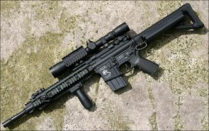 Knights Armament SR15 URX by Drake-UK
