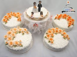 Wedding cakes by The-Nonexistent