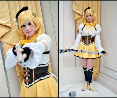 PMMM: Mami Tomoe- Magical Girl Veteran by BlackRoseMikage