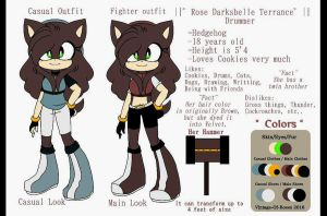 || Reference || Rose Darksbelle Terrance Drummer by r0sque