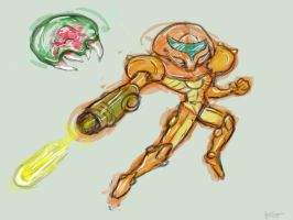 Samus by Too-Much-Bowser