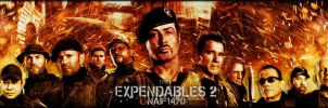 The Expendables 2 by Naif1470