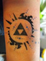 Triforce tattoo by ijasmin