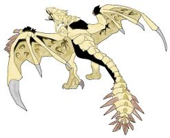 Gold Rathian by Icedragon300