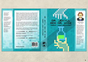 Book cover - Dr. Jekyll and Mr. Hyde by KamratFrida