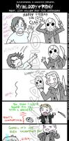 Tegakie: My bloody Friday by KamiDiox