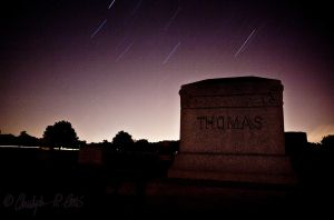 Tombstone and Startrails by ulose2piranha