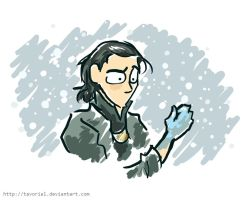Loki -- Was That Always Blue? by Tavoriel