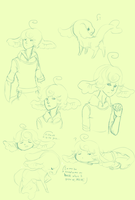 .:Kiwi Doodle Page:. by Pietastic-Creations