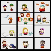 South Park 12 Days of Xmas II by SouthParkPhilosopher