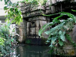 Place 293 - ruins in jungle 2 by Momotte2stocks
