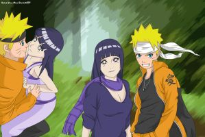 Naruto and Hinata - Together by Xpand-Your-Mind