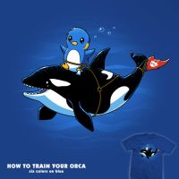How To Train Your Orca - tee by InfinityWave