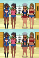 Bimbos Vs. Urban Girls V1 02 by Firingwall
