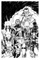 Thunderbolts by KimJacinto