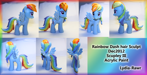 Rainbow Dash Sculpt by Lydia-Rawr