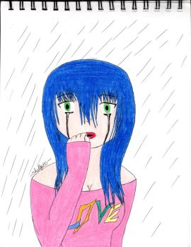 Crying in the Rain by shelly135