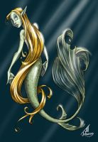 Mermaid 2 by JillJohansen