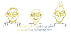 Sketch - Minions by Tolina