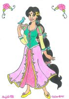 Rapunzel From India by AnneMarie1986