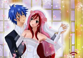 Erza and Jellal by Yuri-chan24