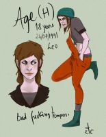 Age Character Sheet by andrahilde