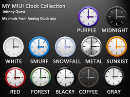My modded MIUI clocks by jquest68