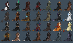 Puppy Adoptables by Mustang-ADOPTS
