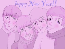 Happy New Year! by greengal14