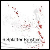Splatter by mcbadshoes