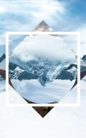 Mountain Polyscape Wallpaper by andrewscottgrace