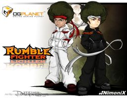 Rumble Fighter - Afro brothers by Darkness1999th