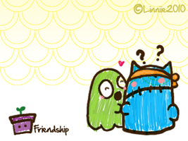friendship by supperfrogg