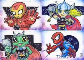 Thor Artist Proof Cards 2 by lordmesa