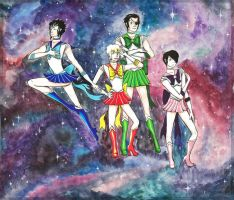 Sailor Starfighers by Faxen