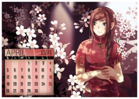 +Callendar Project - April+ by goku-no-baka