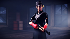 SFM - Mirror's Edge Scout by Robogineer