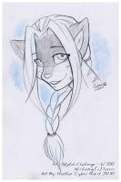 100 Sketch Challenge :: 06 by cybre