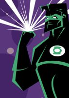 GREEN LANTERN by RobTariArt